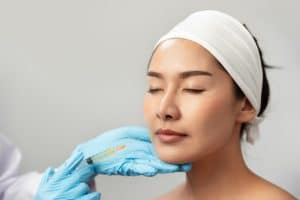 Dermal filler injection treatment injection. Singapore Aesthetic Clinic Bio Aesthetic Laser Clinic