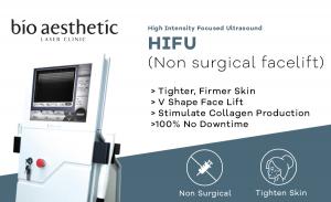 hifu singapore high intensity focused ultrasound bio aesthetic laser clinic