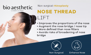 nose thread lift singapore nose fillers bio aesthetic laser clinic