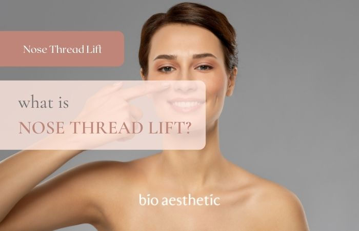 what is nose thread lift