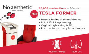 TESLA FORMER MUSCLE TONE singapore bio aesthetic