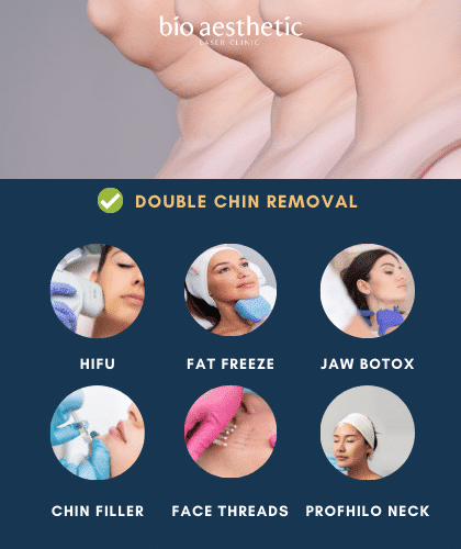 double chin removal singapore bio aesthetic treatment options