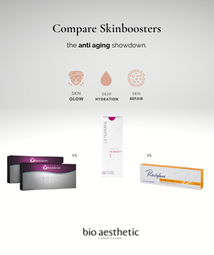 compare the different types of skinbooster