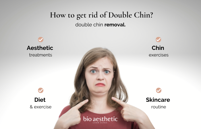 how to get rid of double chin? double chin removal