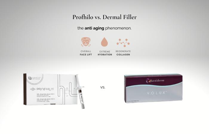 Profhilo Dermal Filler - Profhilo versus Dermal filler